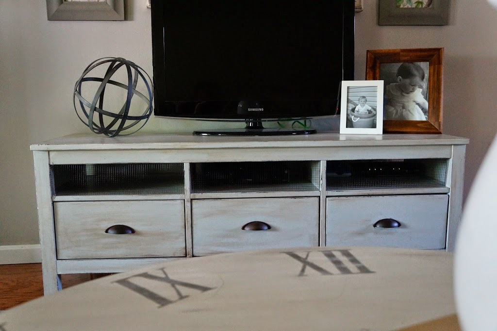 Hemnes Ikea Tv Stand Assembly ~ TV Stand refinished