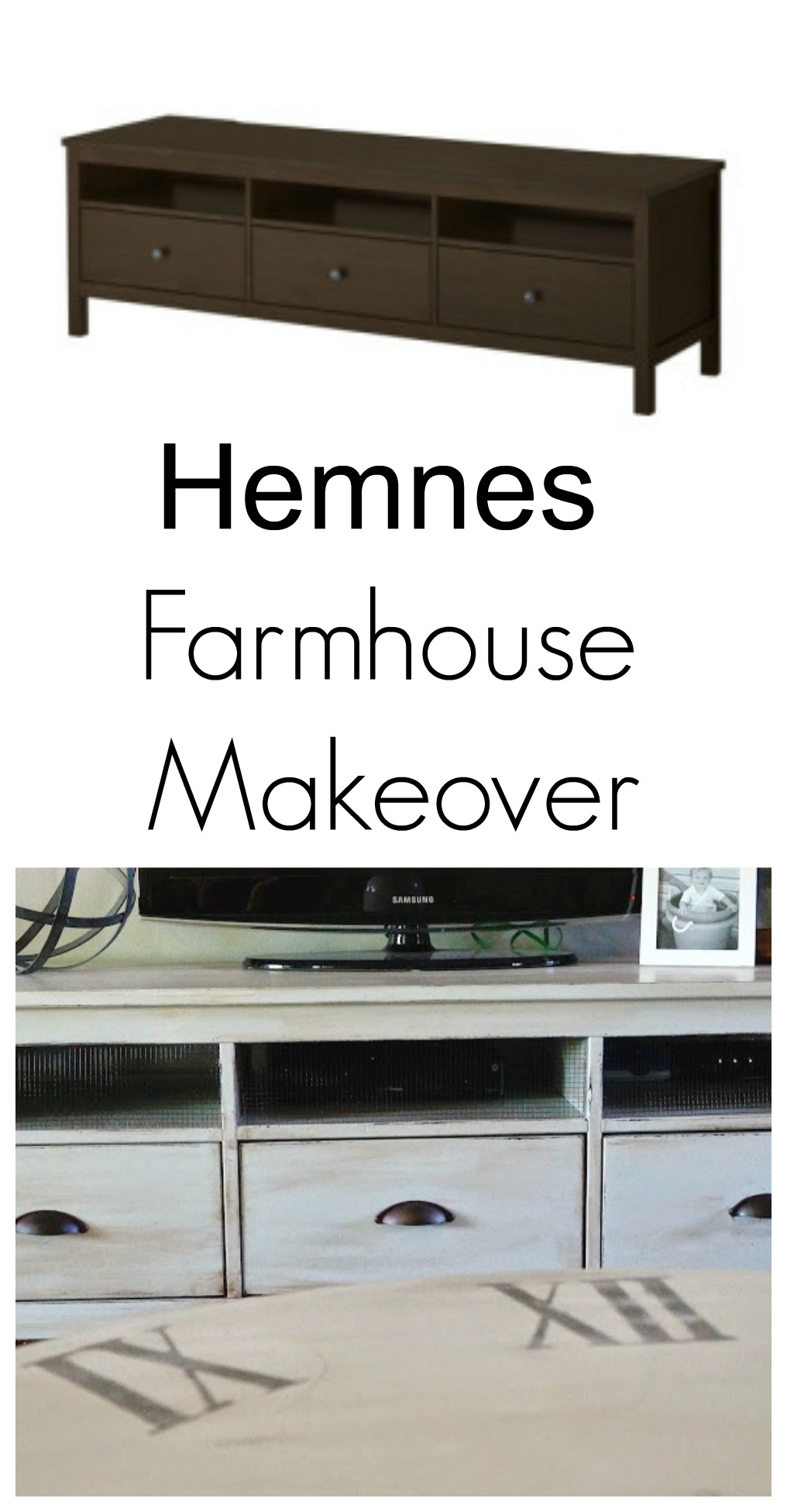 Farmhouse Hemnes Makeover Seeking Lavendar Lane