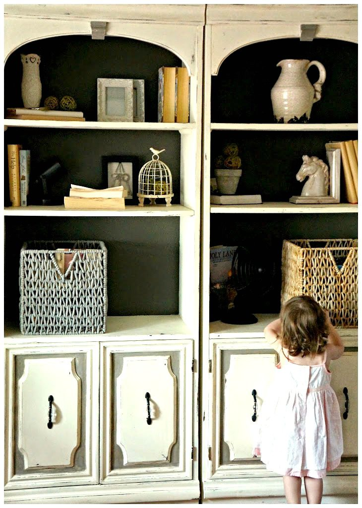 bookcase-makeover