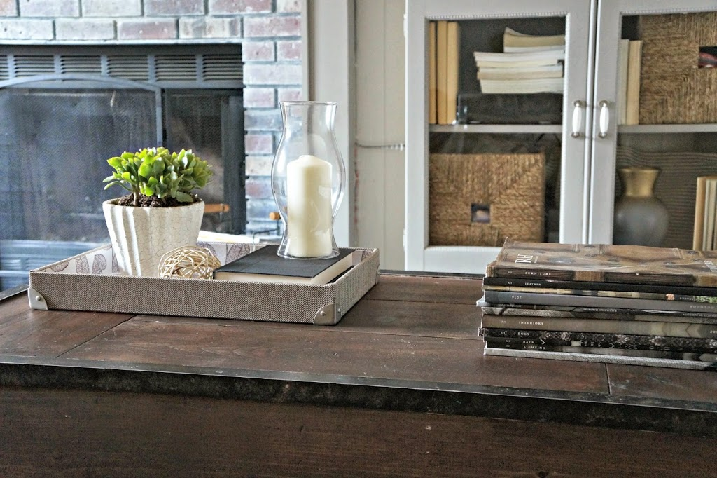 Decorating a Coffee Table