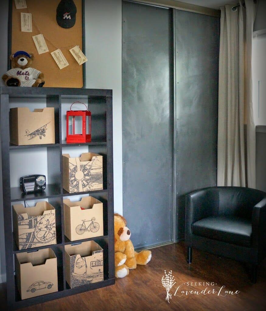 Transportation Storage Boxes