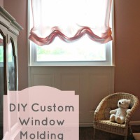 DIY Custom Window Molding