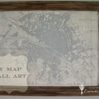 DIY Paris Map