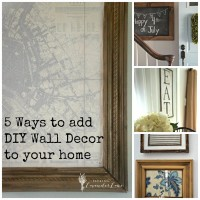 5 Ways to add DIY Wall Decor to Your Home