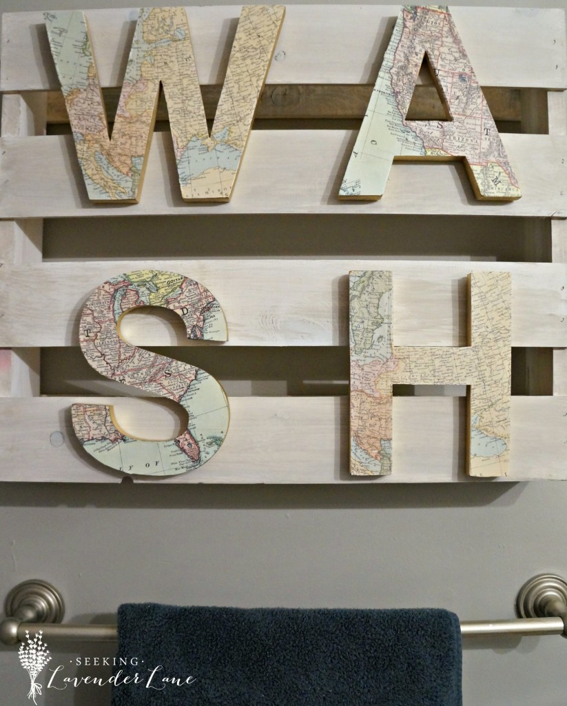DIY WASH Bathroom Sign