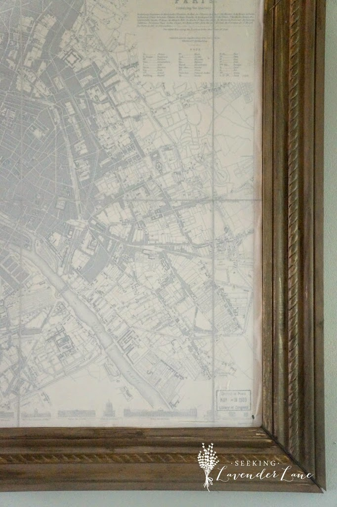 Paris Map Decor