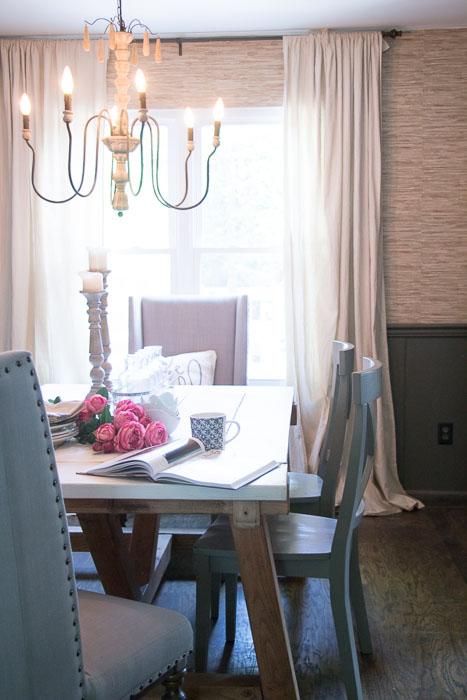 Cheap Home Decor Easiest Diy Drop Cloth Window Treatments