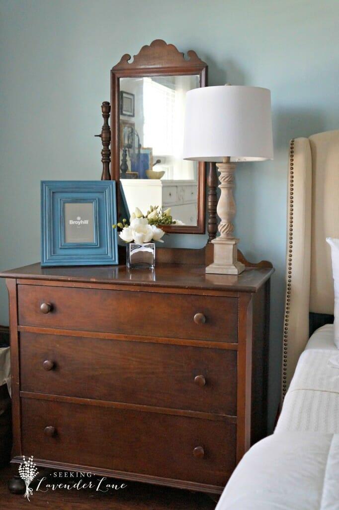 antique chestnut dresser