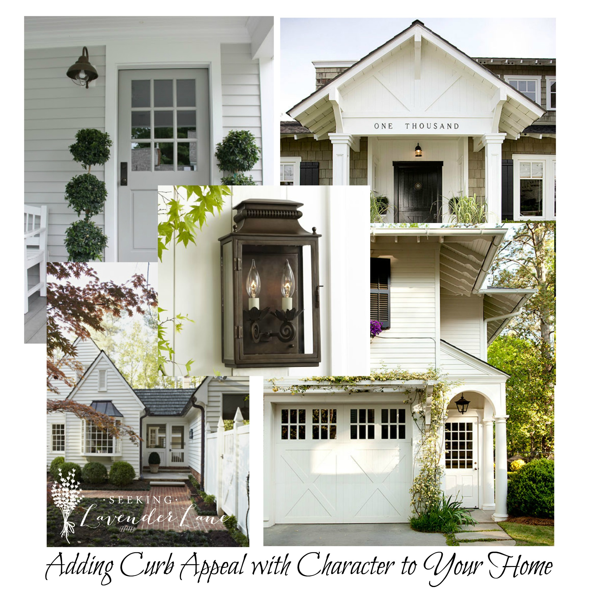 Adding curb appeal with character seeking lavendar lane for Add on to house