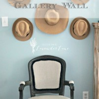 Straw Hat Gallery Wall