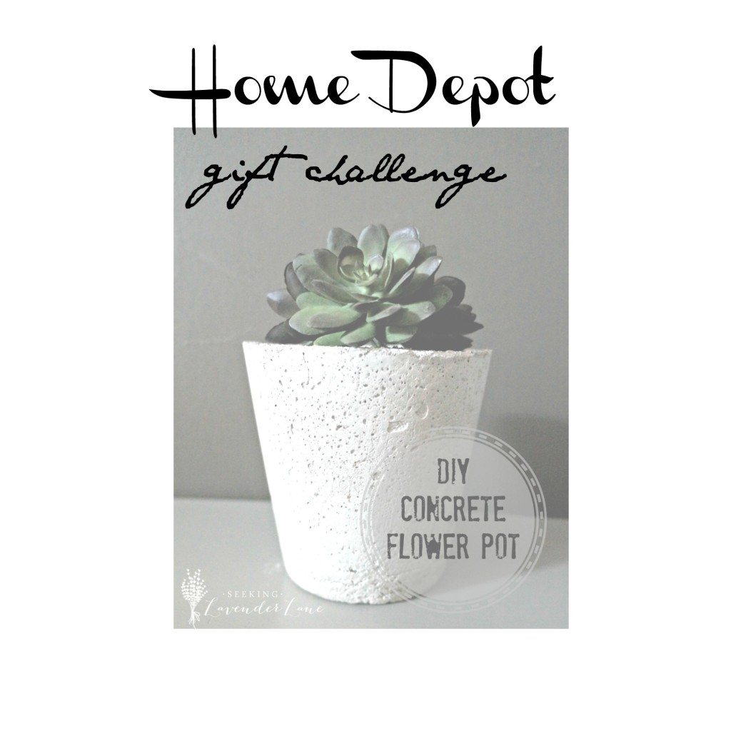 Home Depot Gift Challenge Concrete