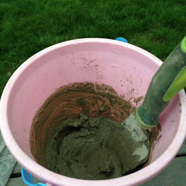 IMG_3320 - Home Depot Gift Challenge Concrete Planter