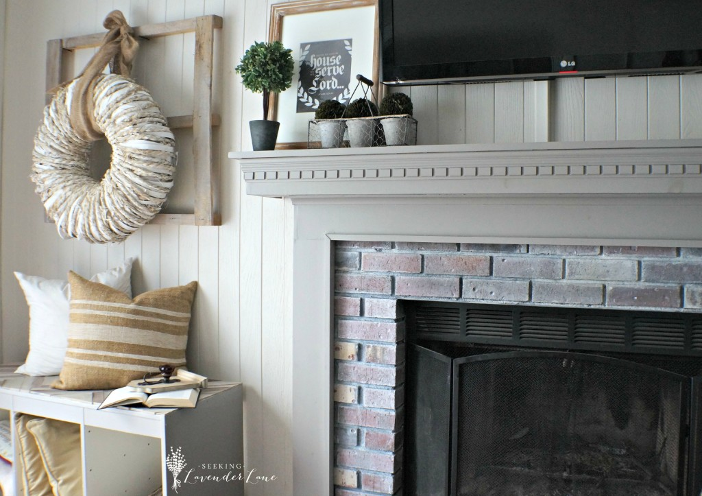 Rustic Cottage Family Room
