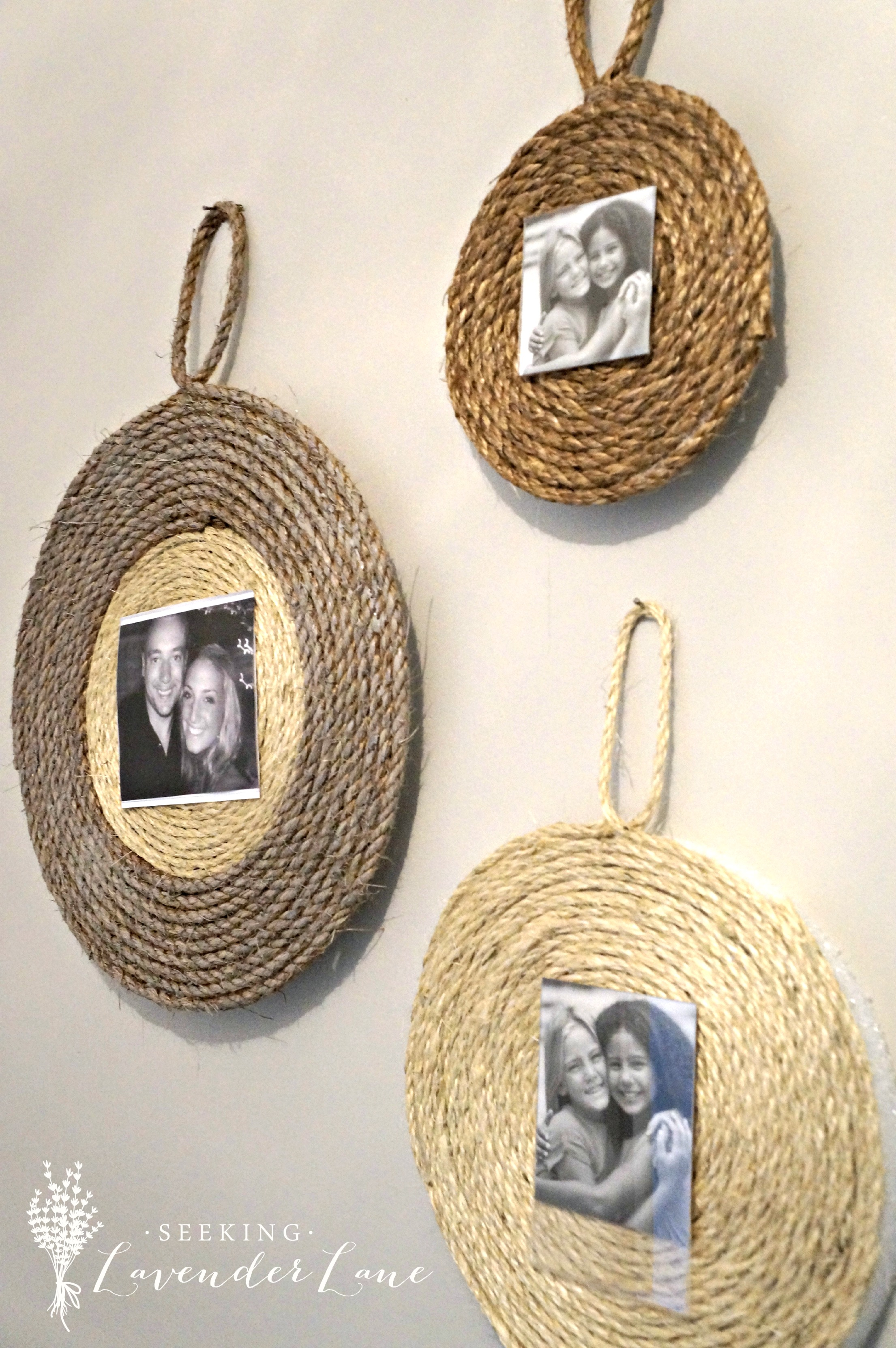 diy rope frame