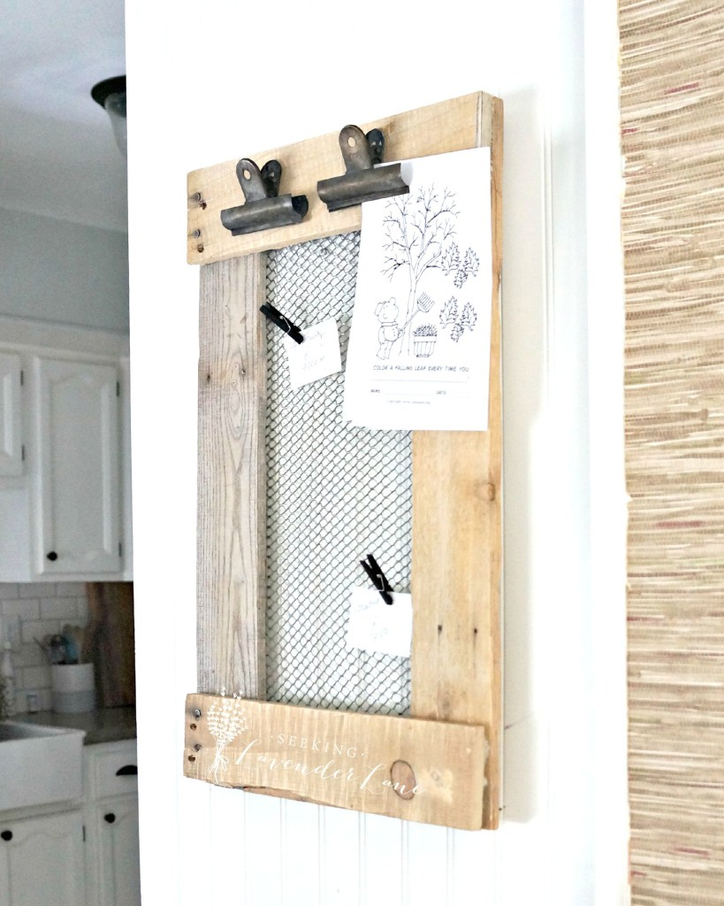 Farmhouse DIY Message Board