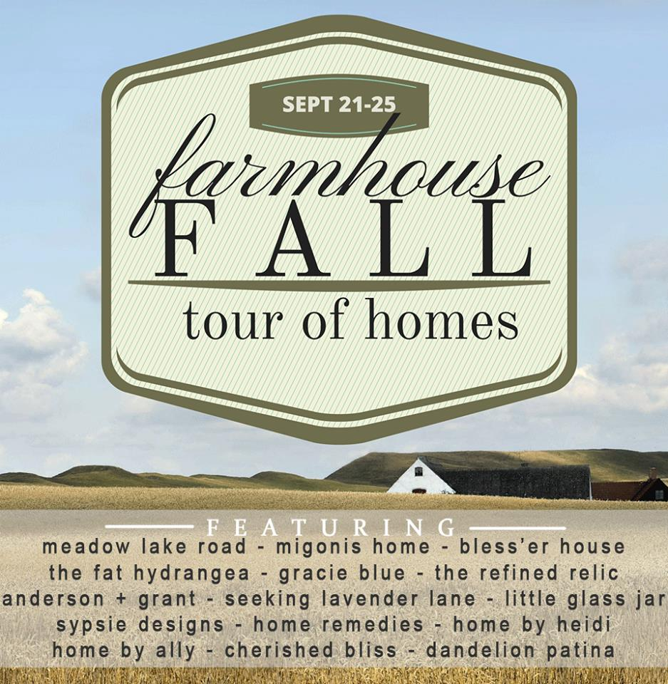 farmhouse fall home tours!
