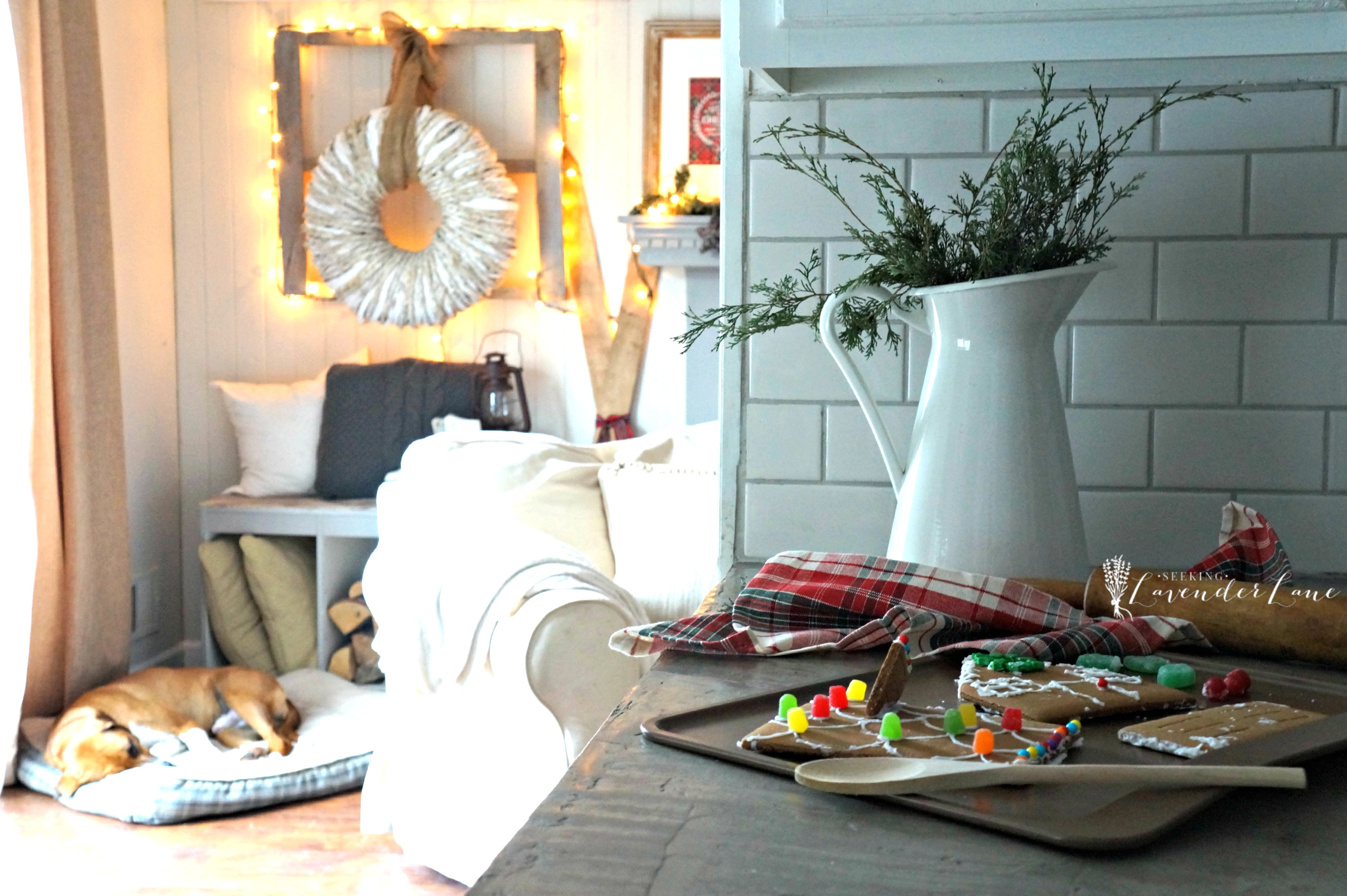 100 2015 Christmas Home Decor Tour Christmas In The Kitchen Warm And Cozy Christmas Home Tour The