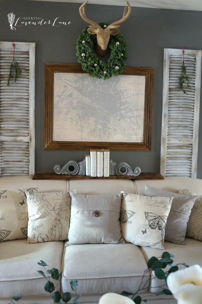 French Rustic Christmas Decor