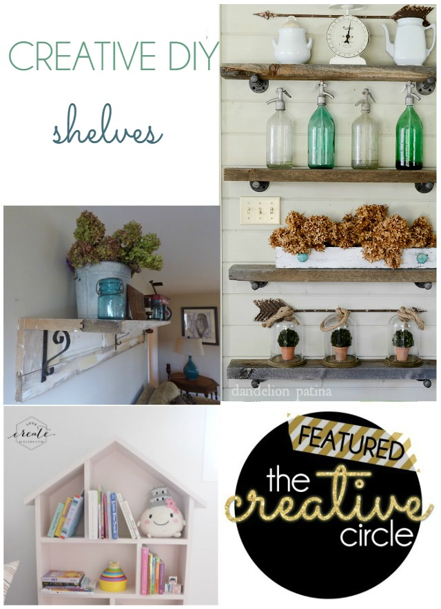 Creative DIY Shelves TCC