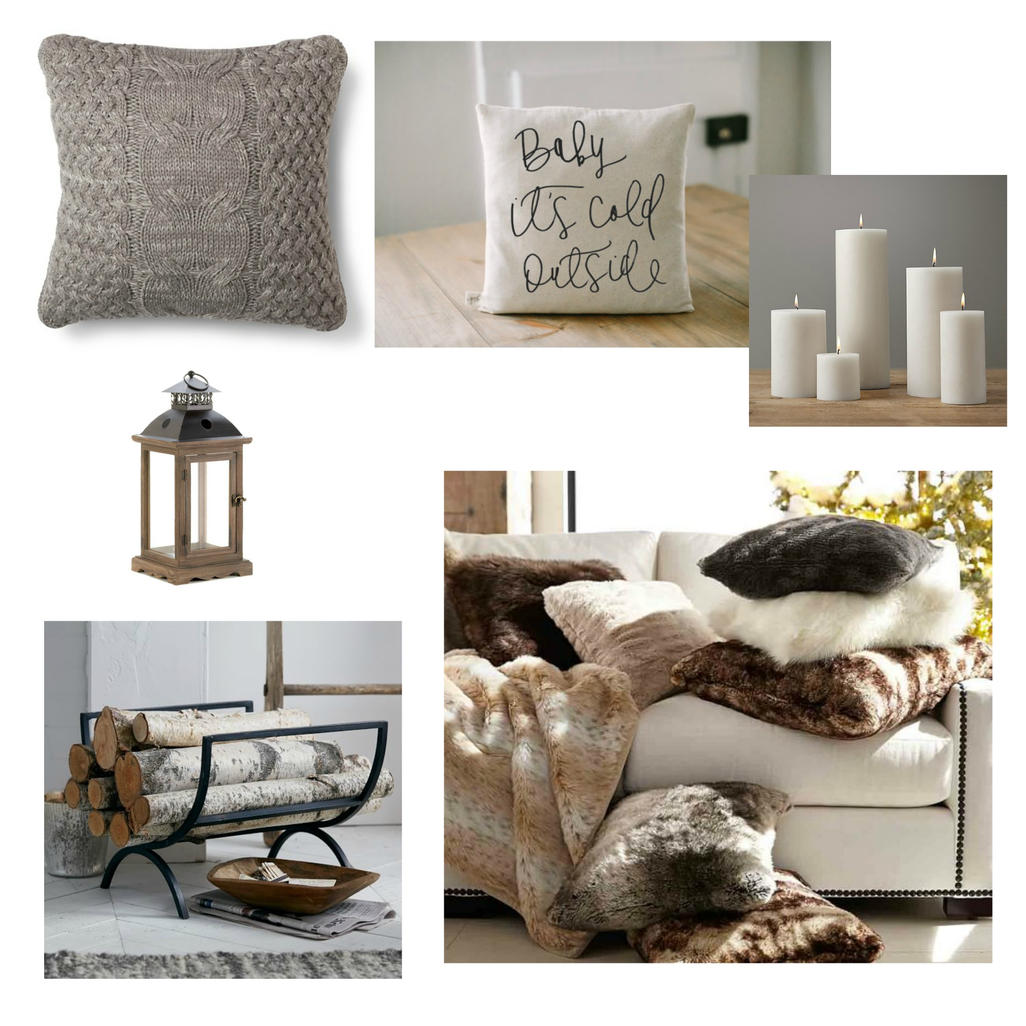 Winter decor ideas 2016 seeking lavendar lane for Where to get home decor