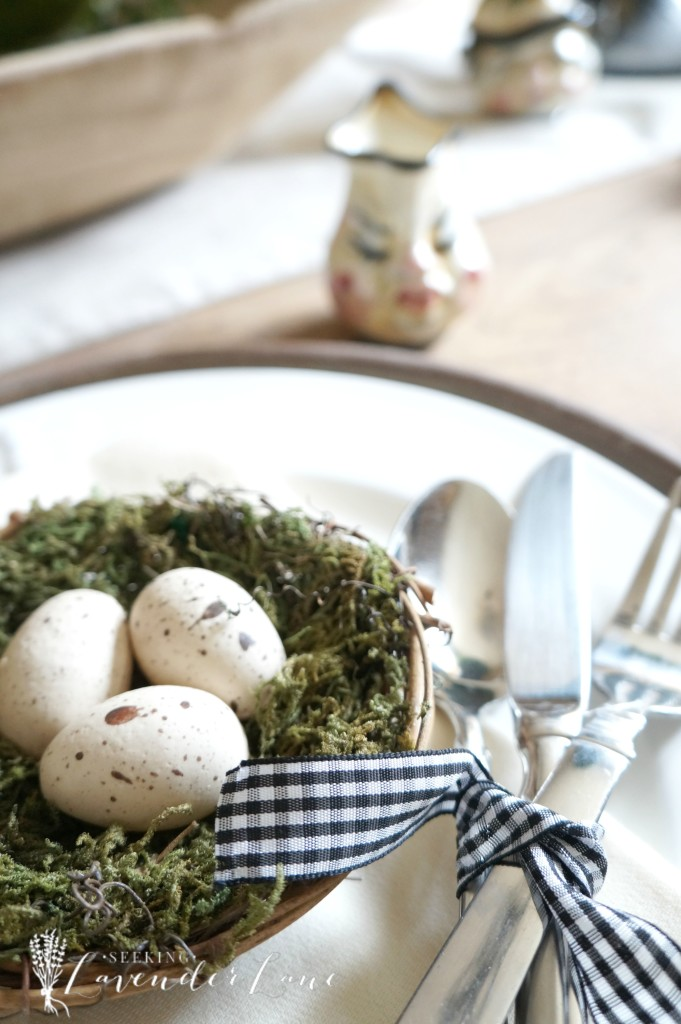 Whimsy Easter Table Setting