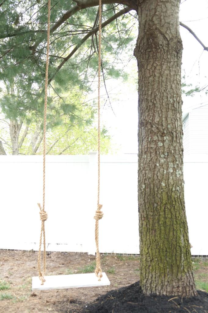 DIY Tree Swing 8