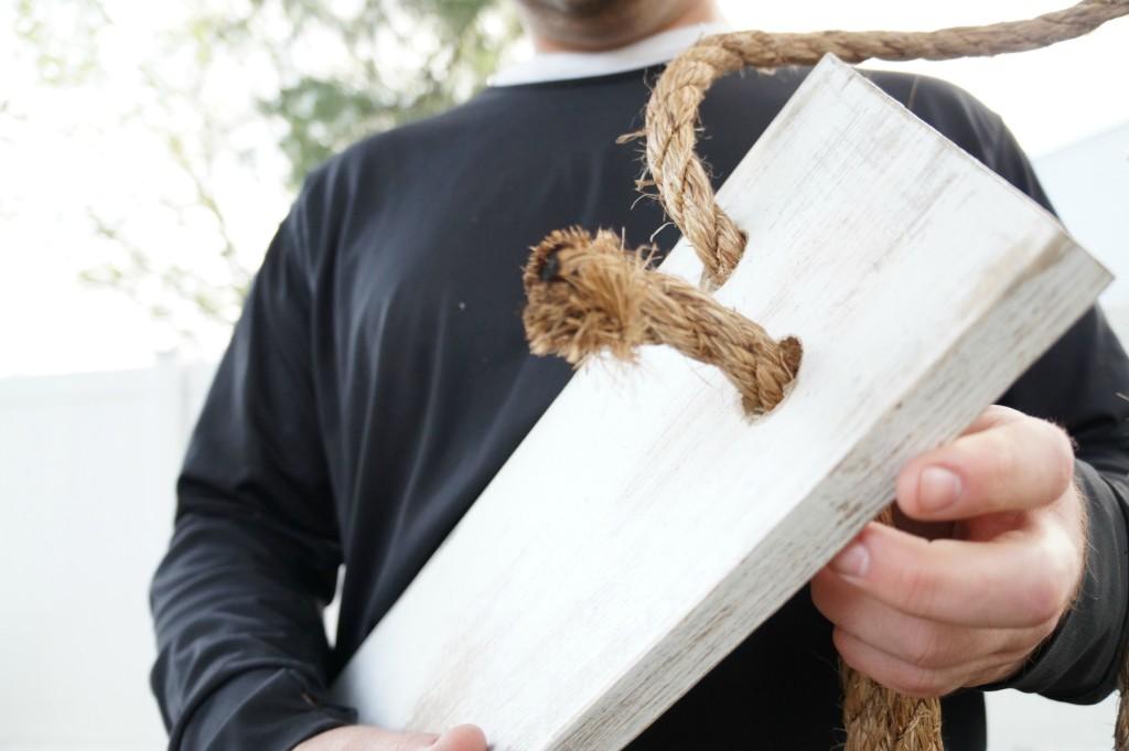 DIY Tree swing 7