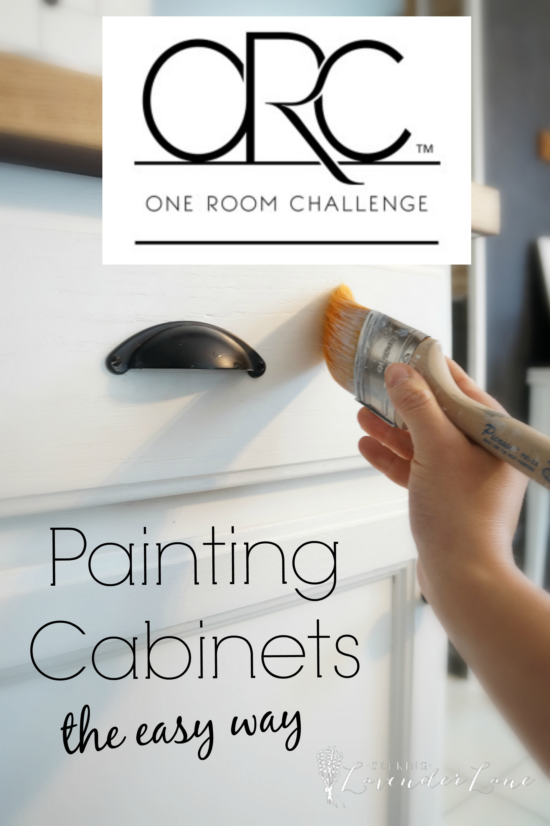 Interior Easy Way To Paint Kitchen Cabinets painting kitchen cabinets the easy way seeking lavendar lane way