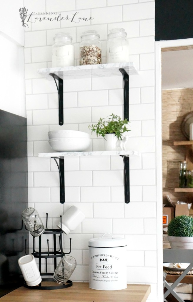 marble floating shelves 9