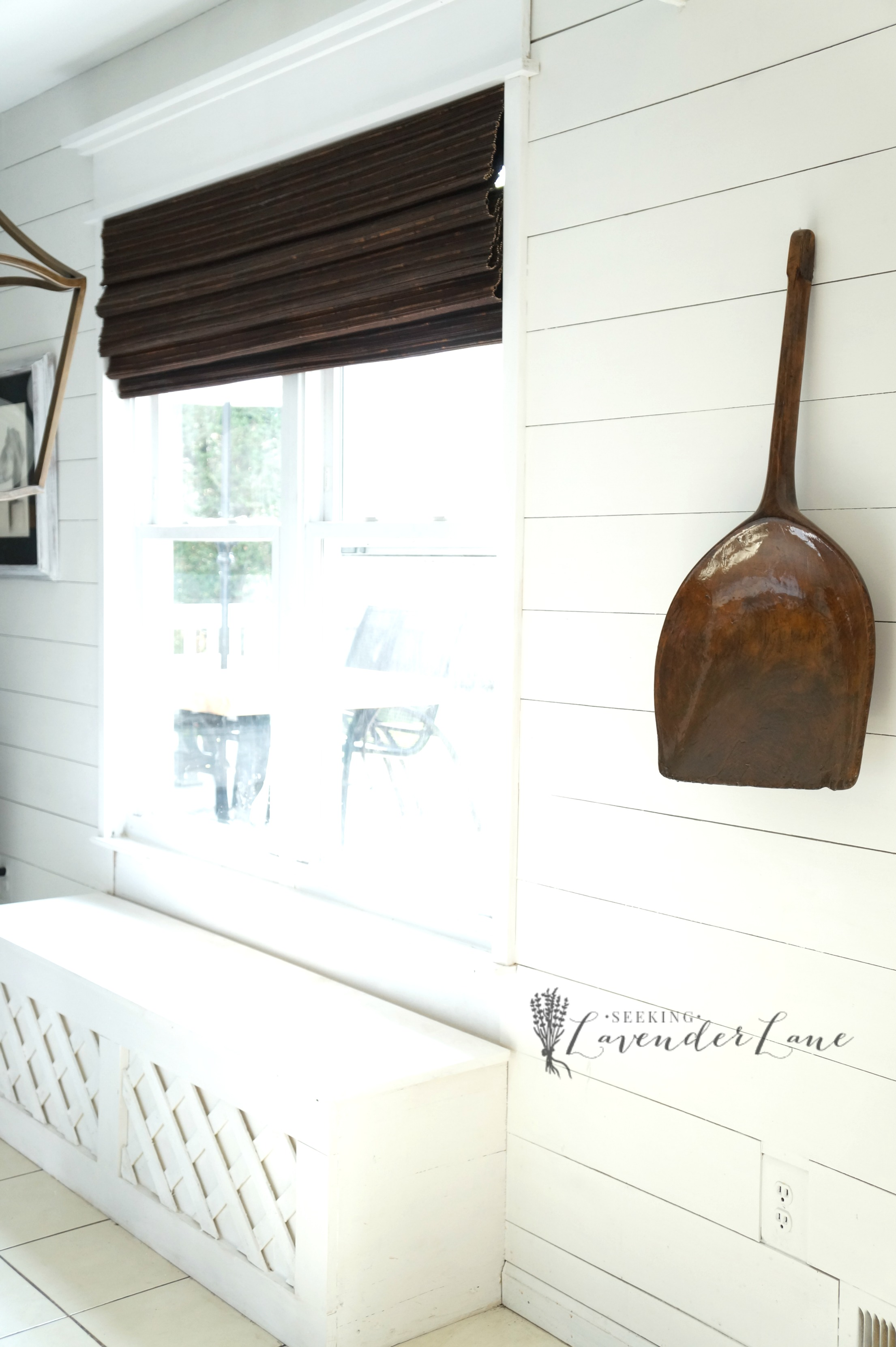 Adding Shiplap and a Built in Bench to Kitchen Nook Seeking