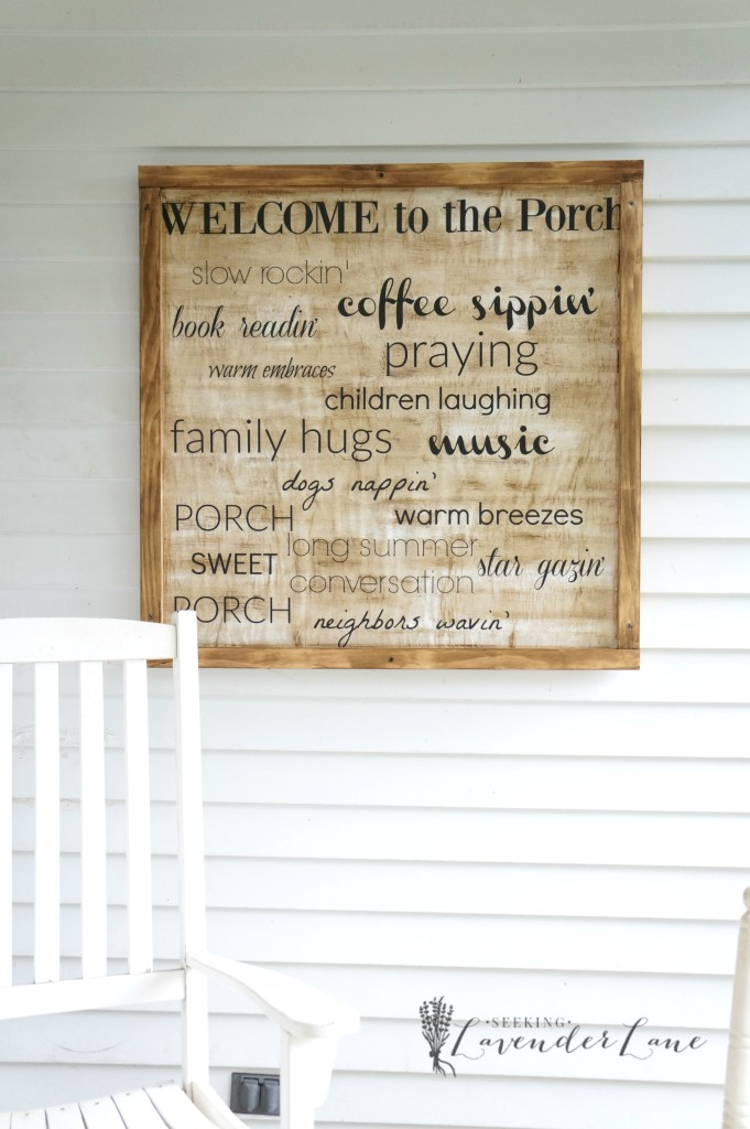 Cheap home decor, Wooden sign