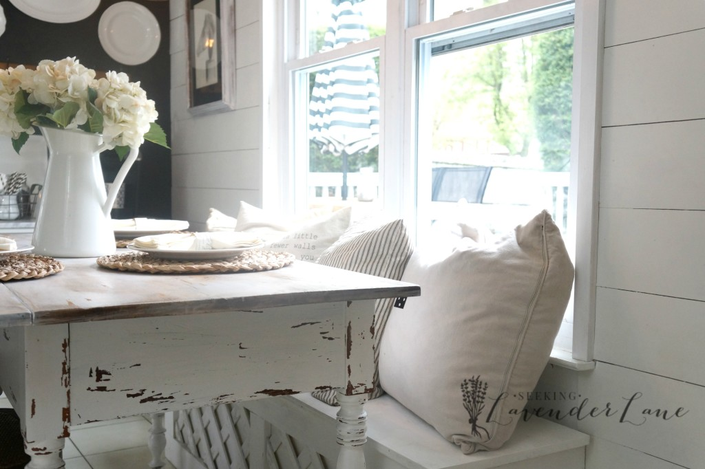 white kitchen table 9