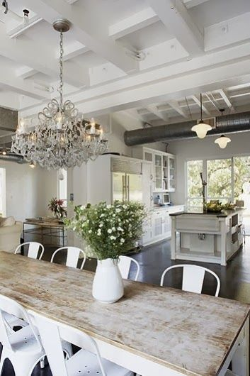white table pinterest