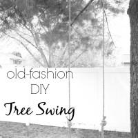 Old Fashion DIY Tree Swing