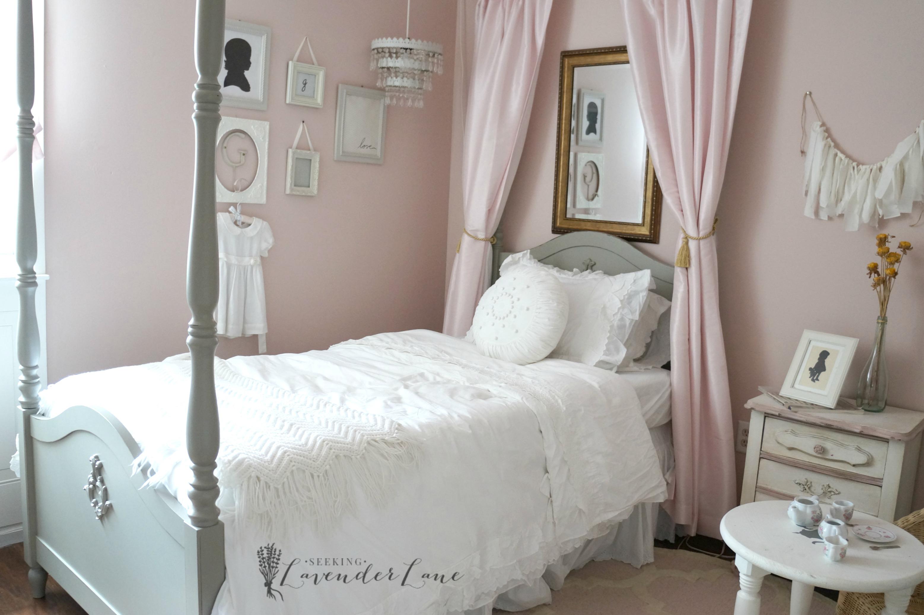 Pink Vintage Girl S Bedroom Seeking Lavendar Lane
