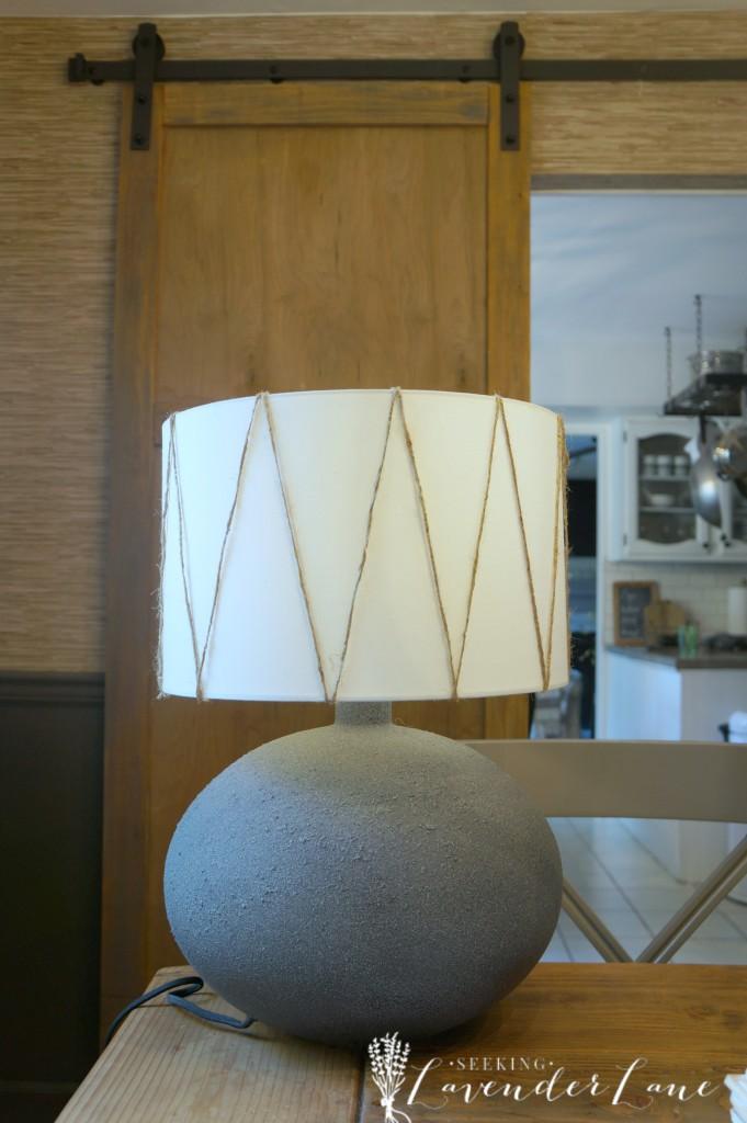 boho lamp makeover 2