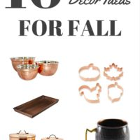 10 Copper Decor Ideas for Fall