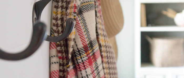 Glamour Farms Alistaire Reversible Plaid Scarf
