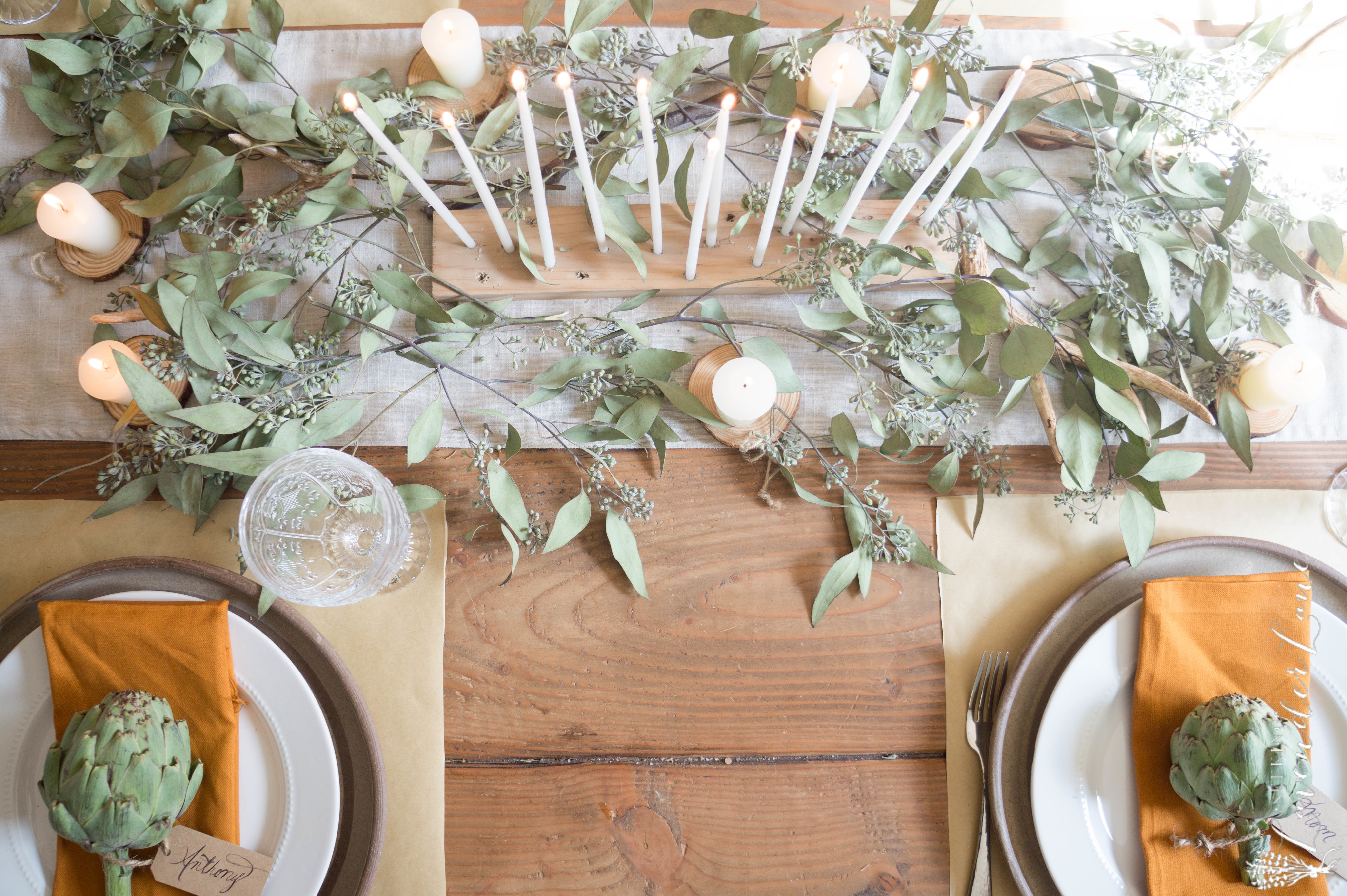 thanksgiving-table-eucalyptus-and-candles-8