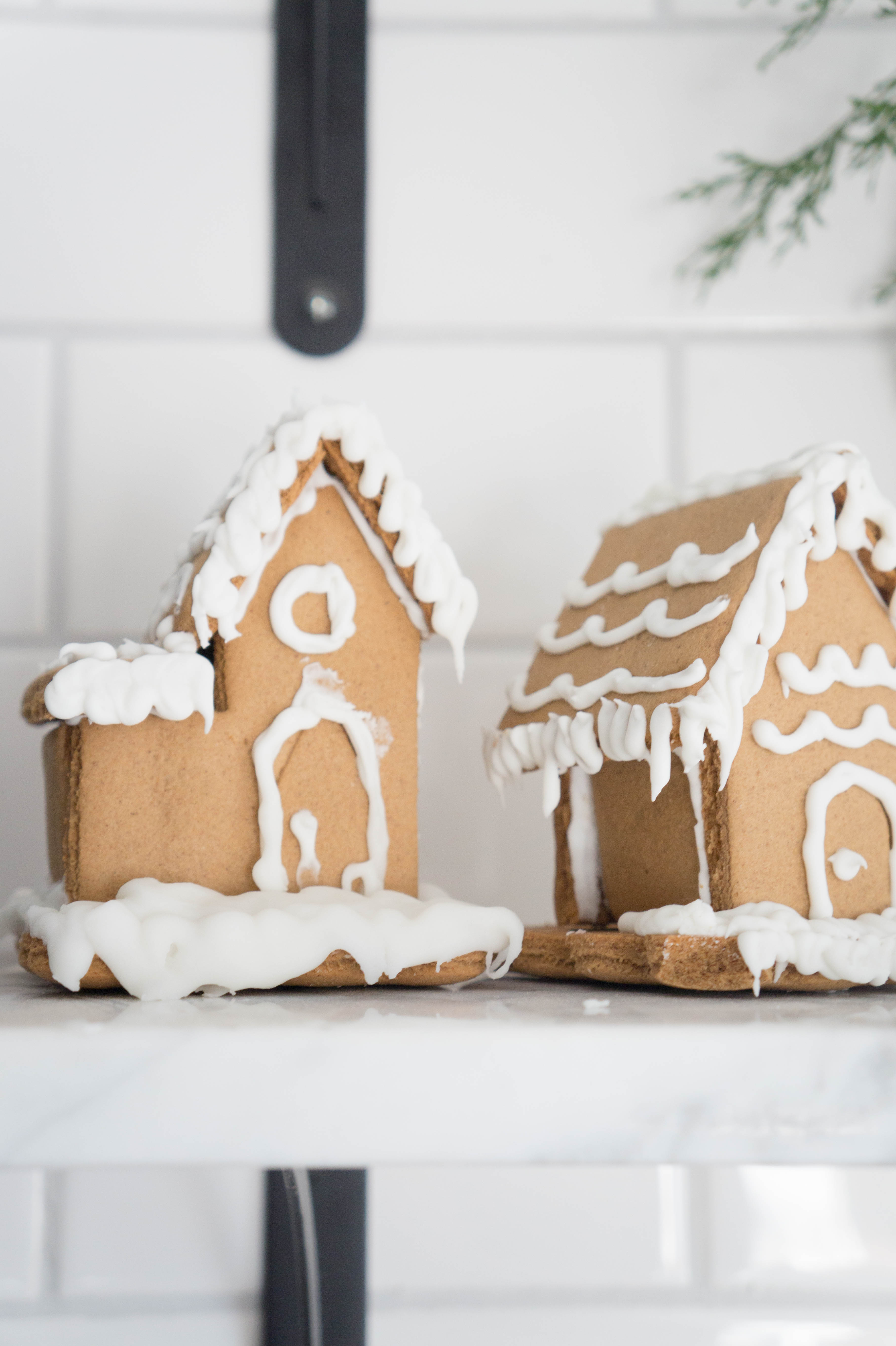 Gingerbread Kitchen Curtains Farmhouse Christmas Kitchen Home Tour Seeking Lavendar Lane