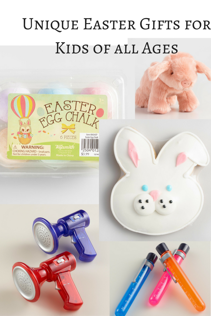 Easter gifts for kids of all ages seeking lavendar lane easter egg chalk pink plush piglet negle Image collections