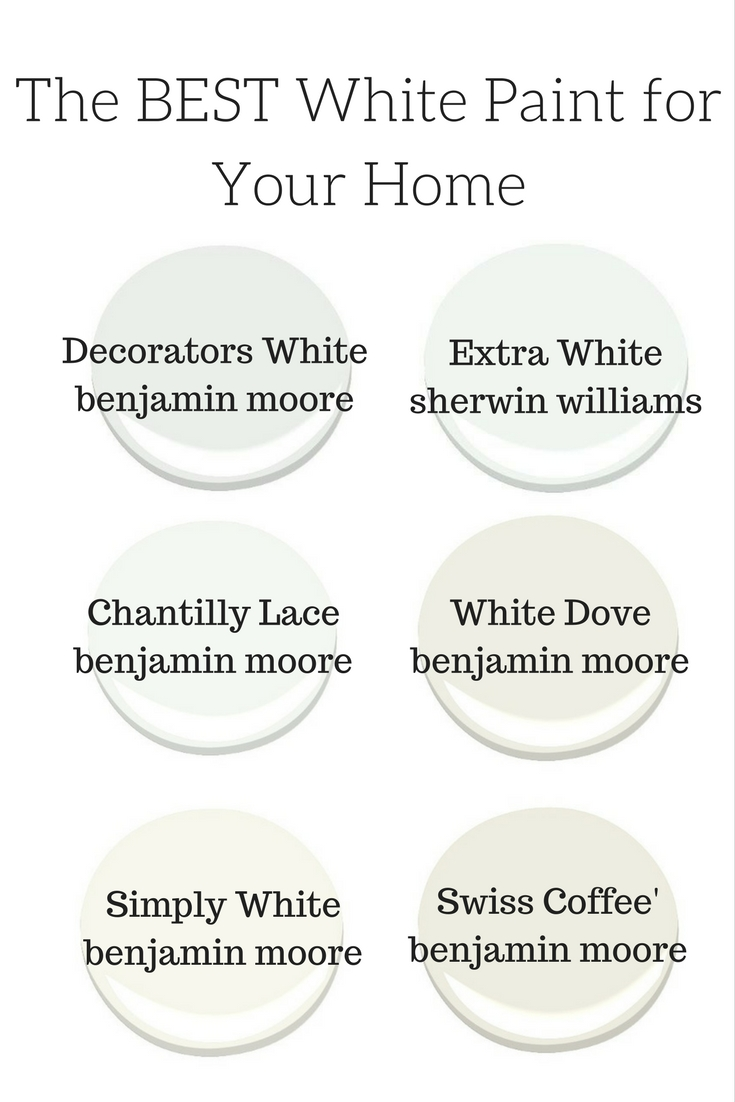 Moderate White Paint Color