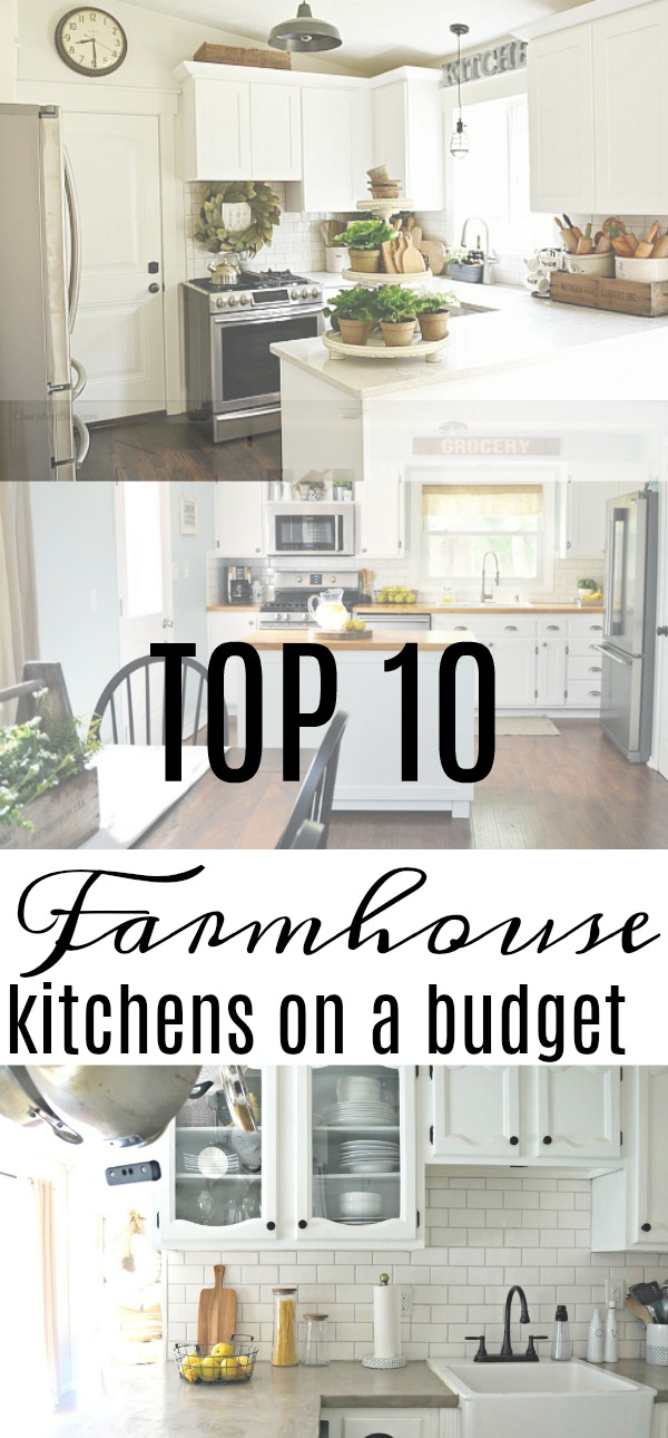 top 10 farmhouse kitchens on a budget seeking lavendar lane