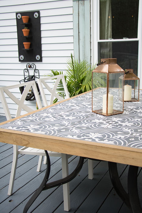 Farmhouse Kitchen Table Makeover