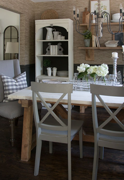Farmhouse dining room table and chairs seeking lavendar lane for Modern farmhouse dining chairs