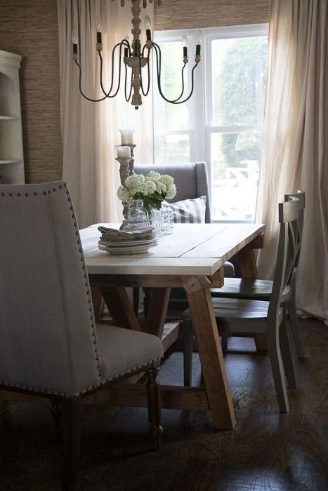 As For The Dining Room, It Has Such A Different Feel From The Rest Of My  Home. I Love That It Still Had That European Farmhouse Style, But With A  Modern ...