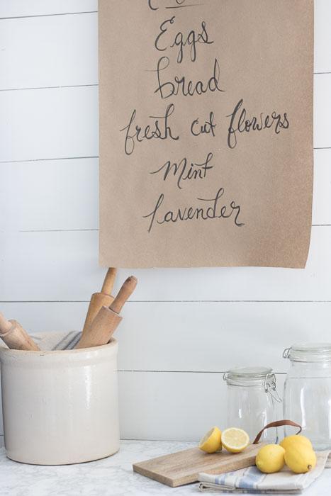 butcher paper holder DIY