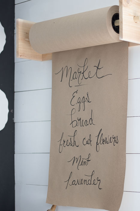 farmhouse decor butcher paper roll