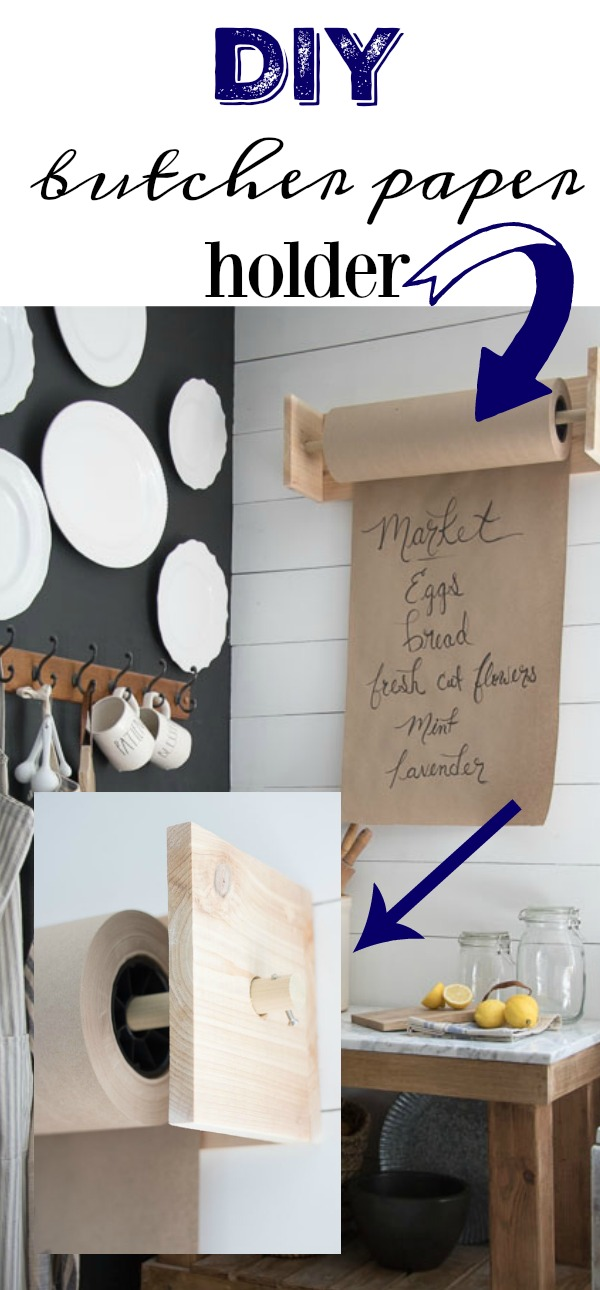 butcher paper holder
